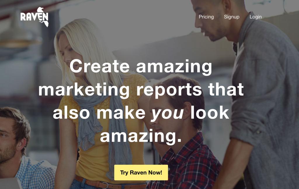 Raventools SEO audit tool