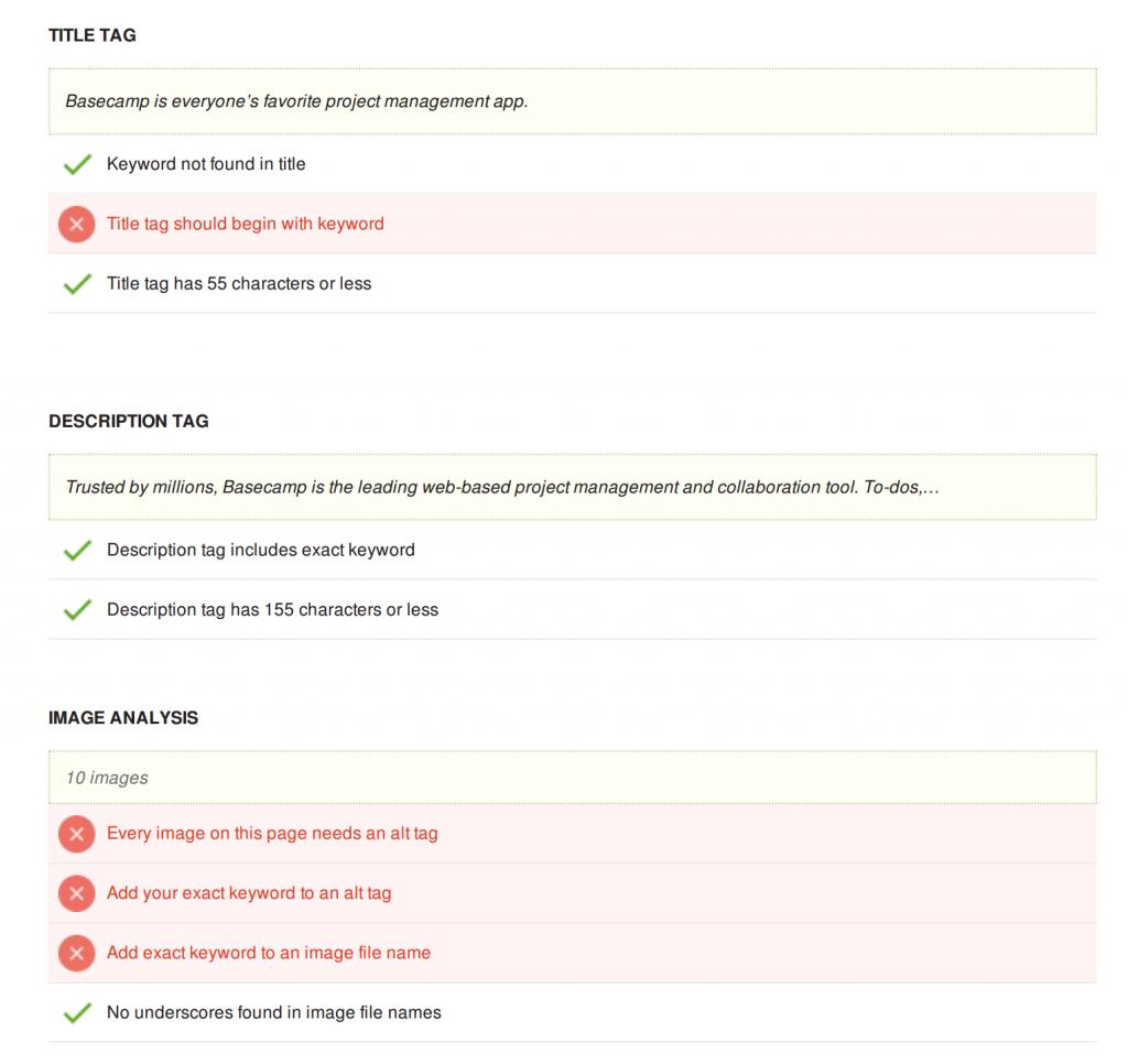 online seo audit tools