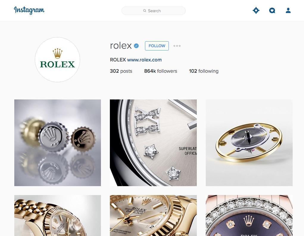 Instagram-Rolex