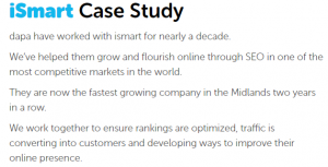 the answer for finance companies case study
