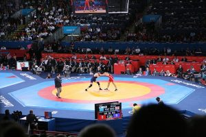 the finance industry wrestling arena