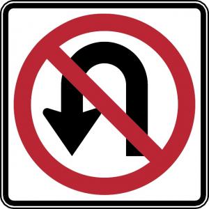 No U-Turn Explaining To Not Go Back